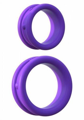 Pierścień-MAX WIDTH SILICONE RINGS PURPLE
