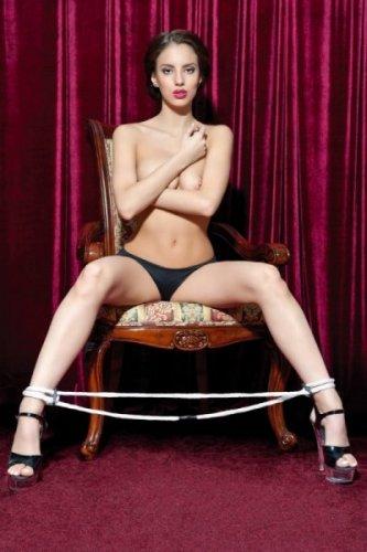 Wiązania-Theatre by Toyfa 702004 white rope for legs bdsm Valentine day