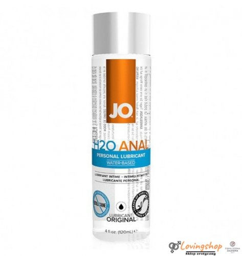 System JO Anal H2O Lubricant 120 ml
