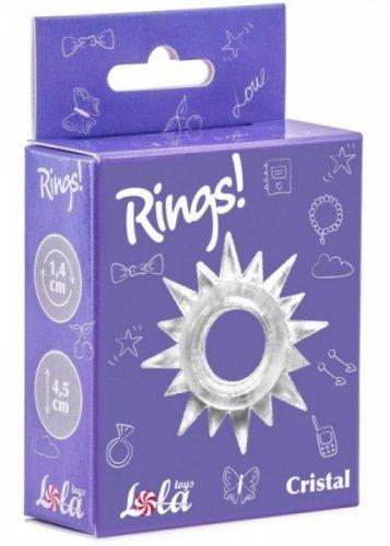 Pierścień-Cockring Rings Cristal white