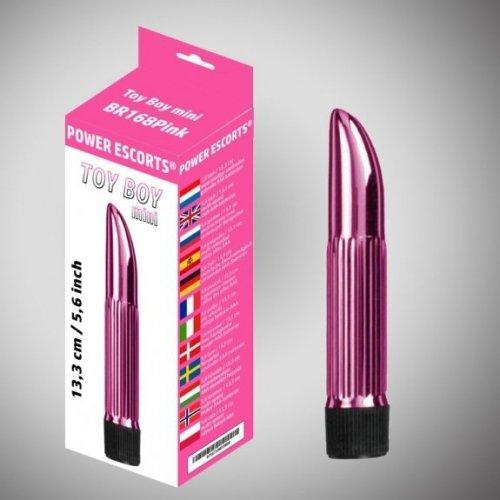 Toy boy mini  pink mini vibrator 13,3 cm x 5,6 inch