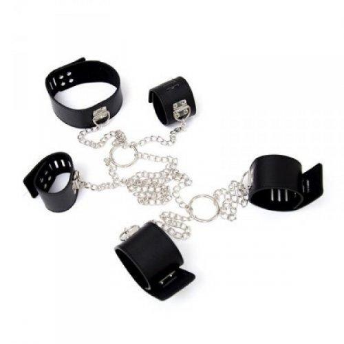 Costrittivo Chain Hogtie black