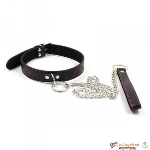 Easy Collar Leash black