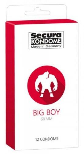 Prezerwatywy-Secura Big 60mm 12er