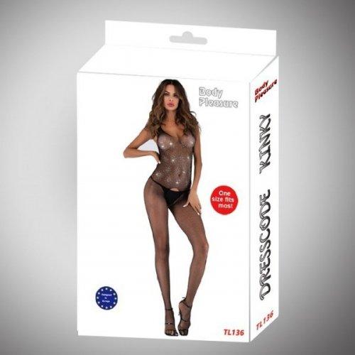 Bielizna - Luxury Gliter Bodystocking medium/small