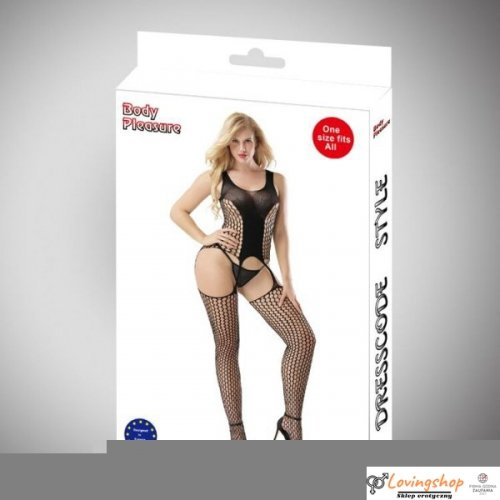 Body Pleasure - Sexy Lingerie Set - one size - black  TL72