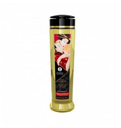 Shunga Erotic Massage Oil Romance / Sparkling Strawberry Wine 240ml