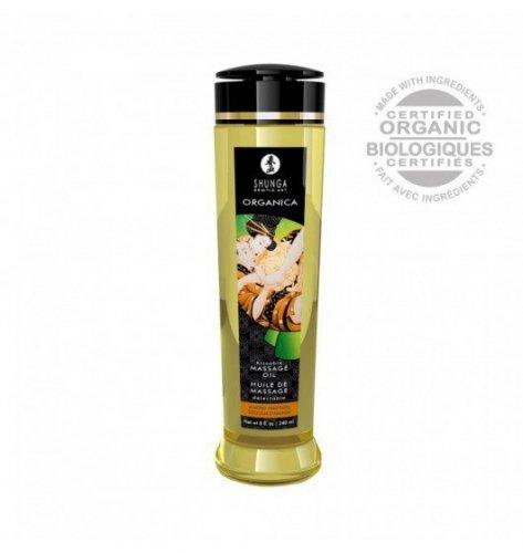 Shunga Natural Massage Oil Organica Almond Sweetness 240ml