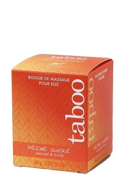 Świeca/krem-Peche Sucre Bougie Massage 60 gr