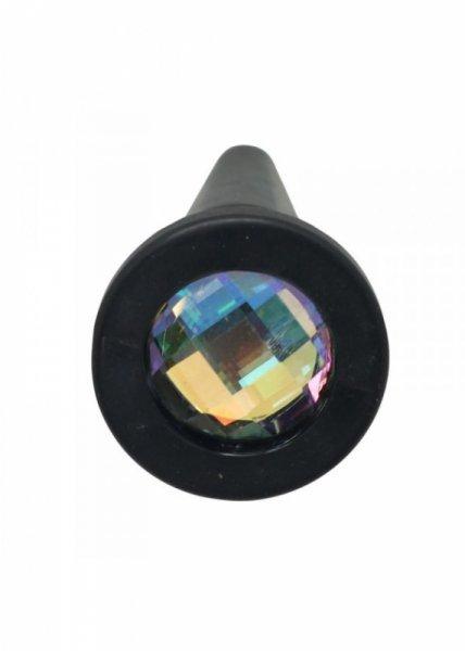 Plug-SOLID TPE PLUG WITH BIG DIAMOND
