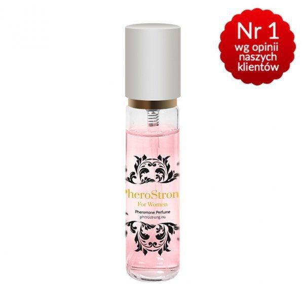 10x Pherostrong  Perfumy podniecające mężczyzn +feromony 15ml DAMSKIE