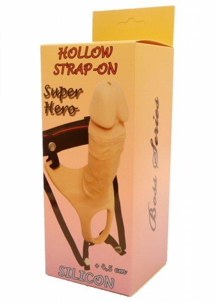 Proteza-Hollow Strap-on Super Hero