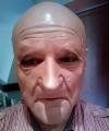 Maska lateksowa - Staruszek Mrva