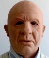 Maska lateksowa - Profesor