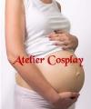 Brzuch 7-8 miesiąc ciąży