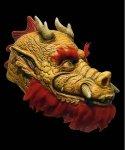 Maska lateksowa - Steve Caballero Pro-Skater Logo Smok