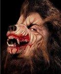 Maska klejona na twarzy - Wilkołak Deluxe