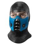 Maska lateksowa - Mortal Kombat Sub-Zero