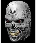 Maska lateksowa - Terminator T-800 Deluxe