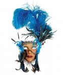 Maska wenecka - Lady Fiore Piume