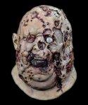 Maska lateksowa - The Walking Dead Szpetny Zombie