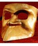 Maska wenecka - Bauta Oro