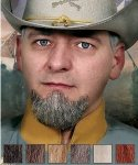Naturalna broda - Generał