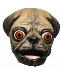 Maska lateksowa - Mops