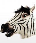 Maska lateksowa - Zebra