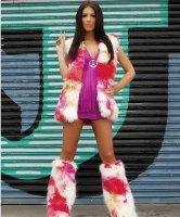 Seksowny kostium - Flower Power