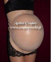 Sztuczny brzuch ciążowy - 9 miesiąc