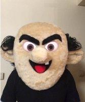 Głowa chodzącej maskotki - Czarodziej