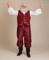 Kamizelka, Spodnie i Koszula Świętego Mikołaja - Vintage II