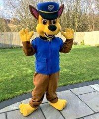 Chodząca żywa duża maskotka - Psi Patrol Chase