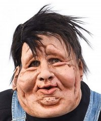 Maska lateksowa - Gruby Eddie