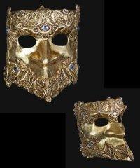 Maska wenecka - Bauta Macram G