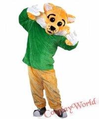 Chodząca żywa duża maskotka - Dziki Kot Sportowiec