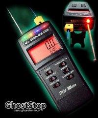 Ghost Hunters - Mel Meter Mel-8704R-REM (REM & EMF & temperatura & światło)