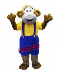 Strój chodzącej maskotki - Małpka