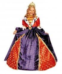 Kostium teatralny dla dziecka - Królowa