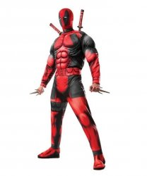 Kostium z Deadpool - Deadpool Deluxe