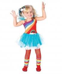 Kostium dla dziecka - Tęczowa Dziewczynka
