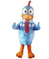 Strój chodzącej maskotki - Kurczak Wielkanocny 4