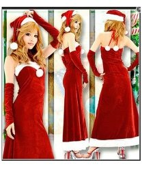 Kostium świąteczny - Miss Santa 3