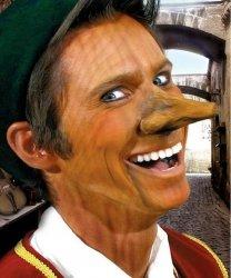 Charakteryzacja FX - Sztuczny nos Pinokia