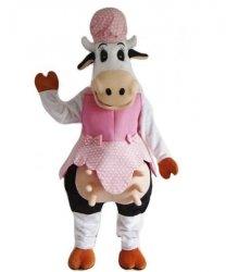 Strój chodzącej maskotki - Krowa Kunegunda