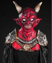 Kostium na Halloween - Diabeł Baal Deluxe