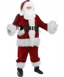 Profesjonalny strój Świętego Mikołaja - Św. Mikołaj Premium VI