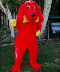 Chodząca maskotka - Piesek Czerwony