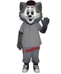 Strój chodzącej maskotki - Kot Szarak